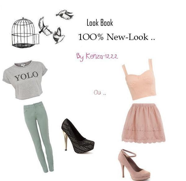 Look Book 1OO% New Look