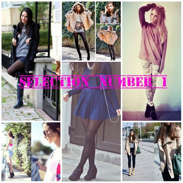 Selection de look sur :(LookBook.nu)