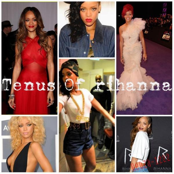 Look De Rihanna !