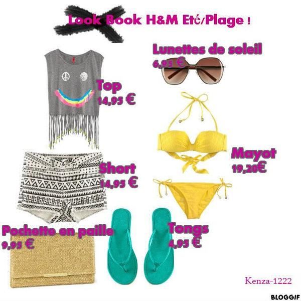 Look Book H&m Eté Plage !