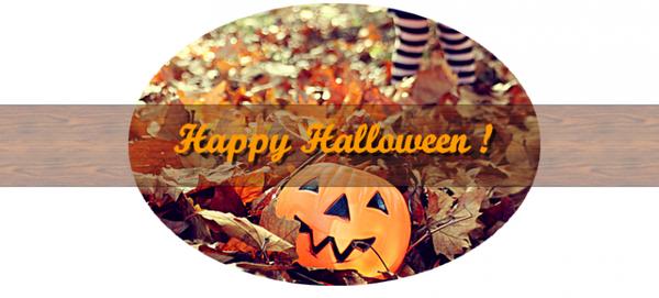 Happy Halloween  !