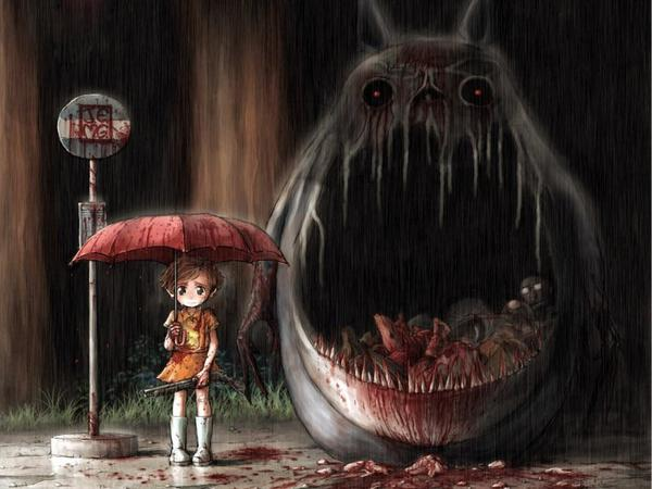Totoro x)