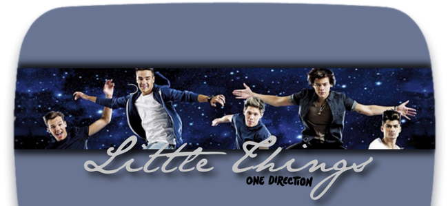 I won't let these little things slip out of my mouth ~ One Direction