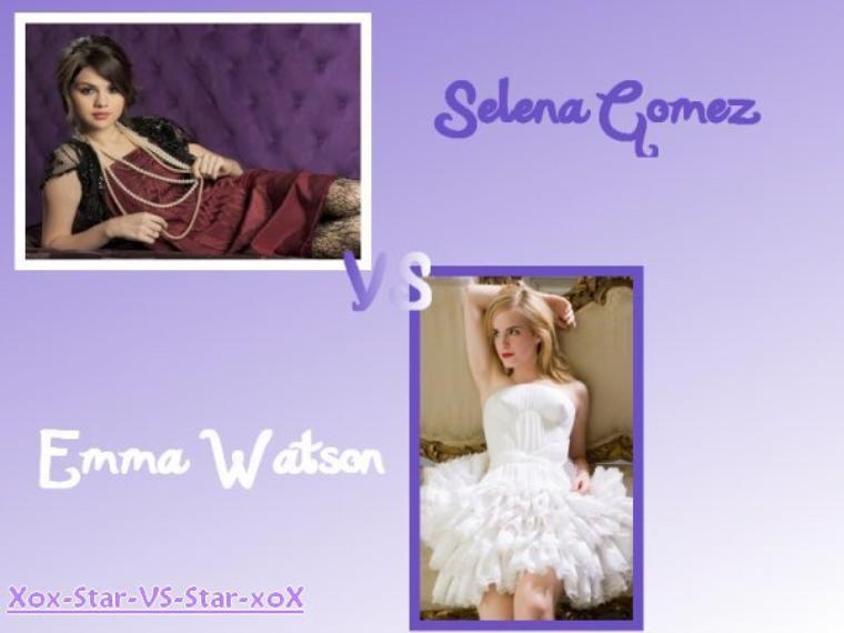 Séléna Gomez VS Emma Waston