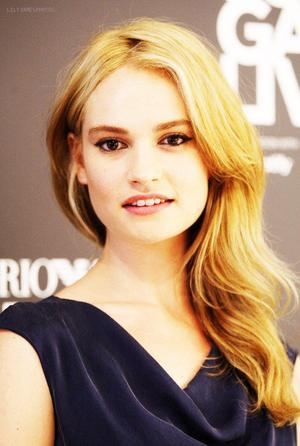 ➽ LILY JAMES