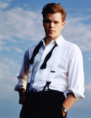 ➽ MATT DAMON