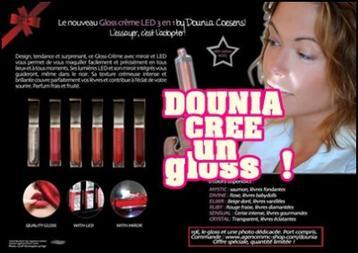 Et non , vous ne rêvez pas ! Le Gloss-Crème LED 3 en 1 by Dounia Coesens !
