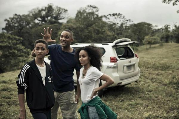 Jaden , Jada & Will