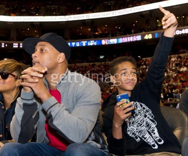 Jaden & Will a un match de basket.