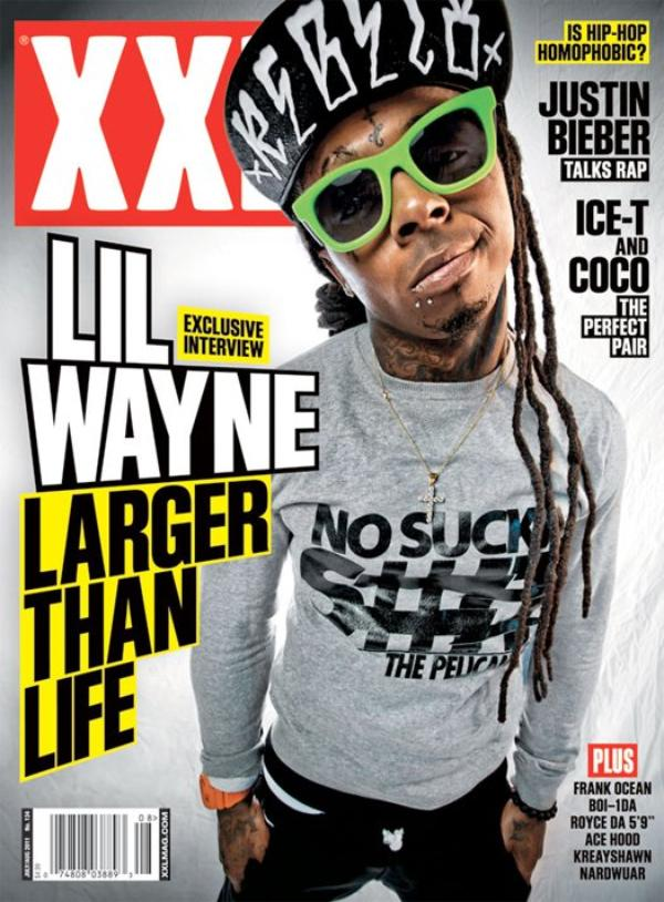 ๑ Info' & Picture: Lil Wayne covers XXL Magazine's July/August 2011 issue.