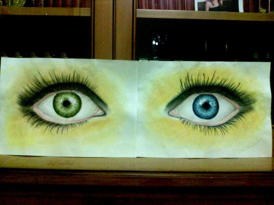 Yeux pers, vairons