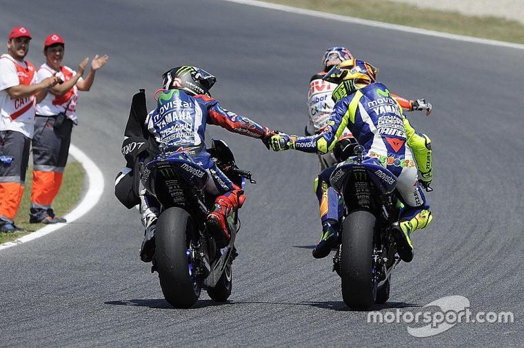 L'impossible cohabitation entre Rossi et Lorenzo en 2016