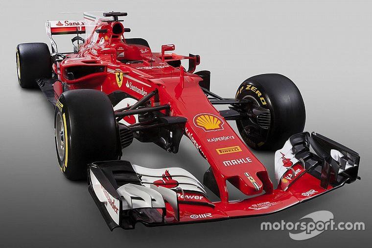Ferrari présente sa F1 2017 : la SF70H