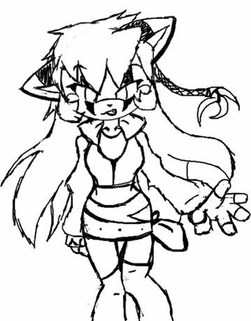 Personnage : Madynights (Style version Sonic)