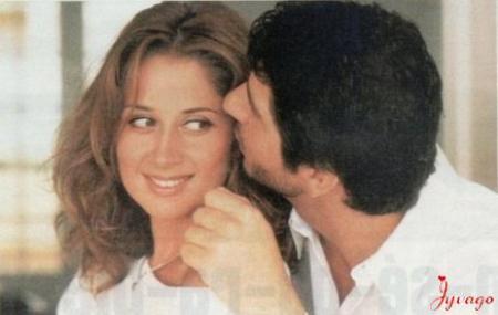 LARA  FABIAN  ET  PATRICK  FIORI  ILS  SE  CONFIENT  AVRIL  1999