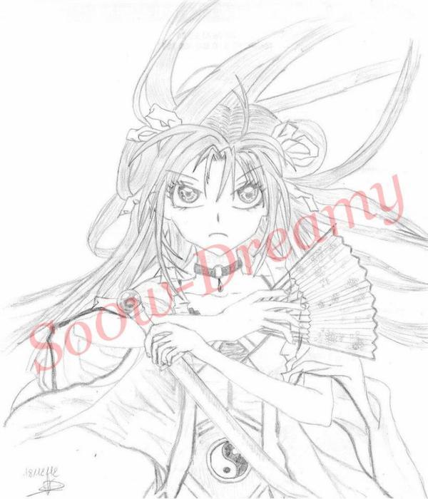 Dessins Princesse Sakura - Arina TANEMURA