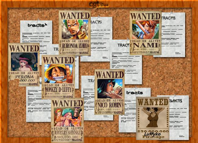 "Tableau d'Affichage ""Wanted"""