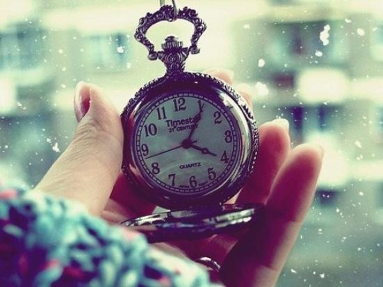 Le temps ♥..