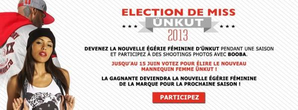 ELECTION DE MISS ÜNKUT 2013