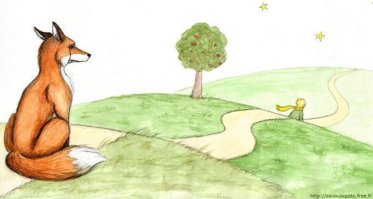 """C'est une chose trop oubliée, dit le renard. Ça signifie """"créer des liens..."""""""