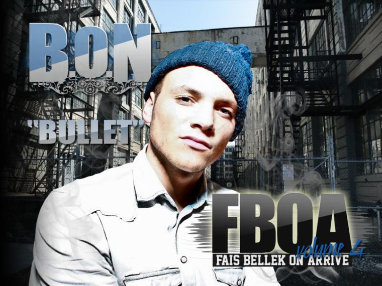 B.O.N/BULLET/FBOA VOLUME 4 VISUEL BY SALL