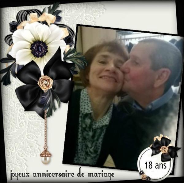 JOYEUX  ANNIVERSAIRE  DE  MARIAGE  MES  AMIS  (l)