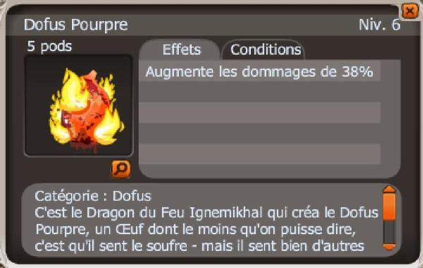 Drop Dofus Pourpre !