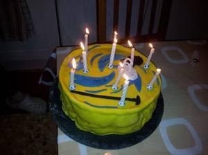 gâteau stadium beyblade