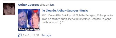 Merci Arthur ! ♥