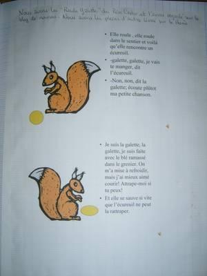 L'épiphanie avec notre ami l'écureuil !