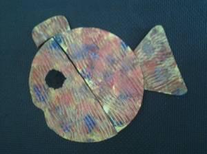 Une de mes créations pour le poisson d'avril