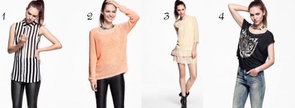 4 looks : à toi de choisir !!!
