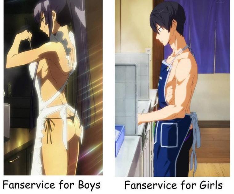 L'égalité des sexes!