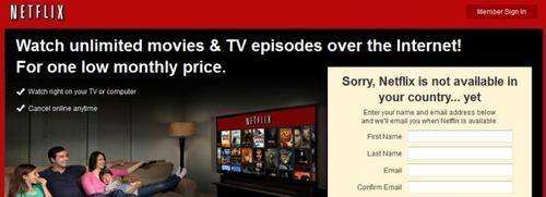 Comment débloquer Netflix en dehors des États-Unis?