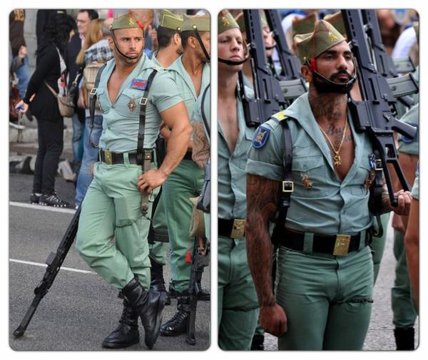 sexy men army