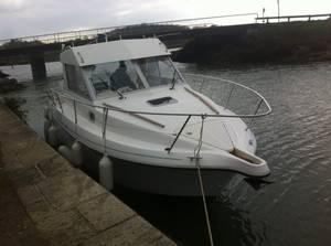 Mise à l eau du bateau de Dany