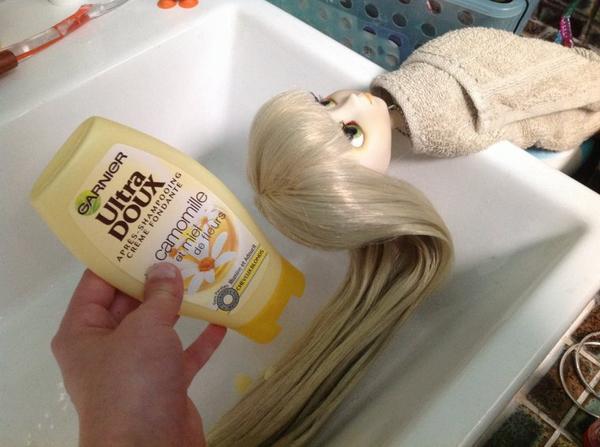 Démêler la wig de sa pullip ! ;)