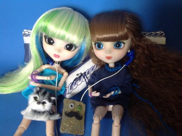 New séance photo des mes deux pullip luna et chloe ^_^