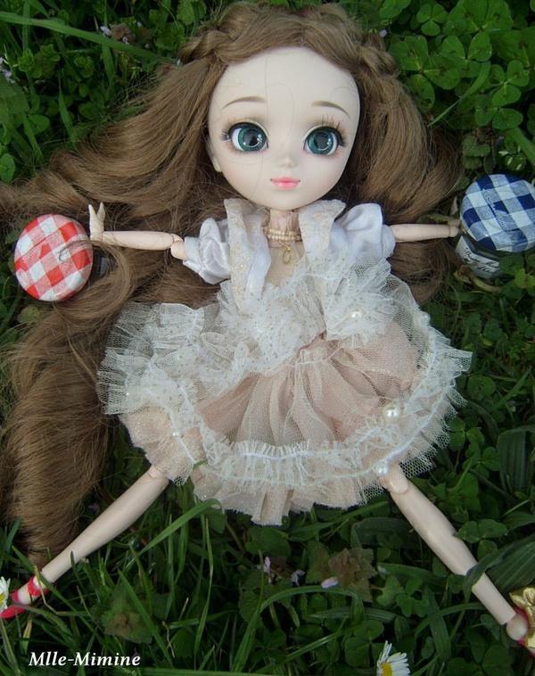 Séance photo de Mayumi dehors
