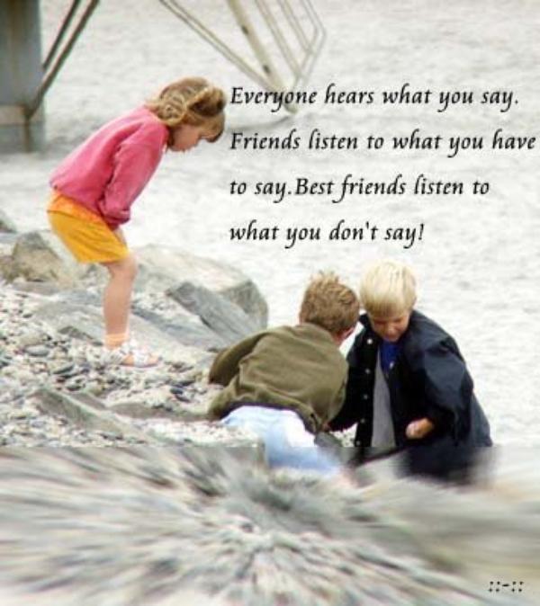a friend!