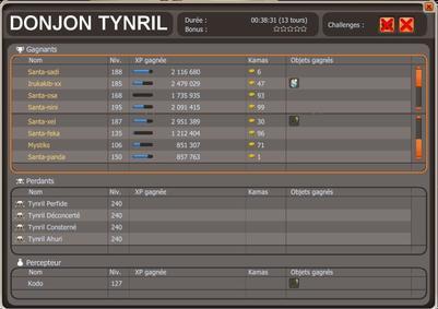 Donjon Tynril + capture.