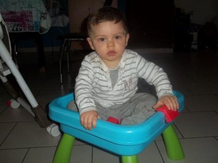 Mathéo Mon Neveu ; 1 ans le 23 Mai