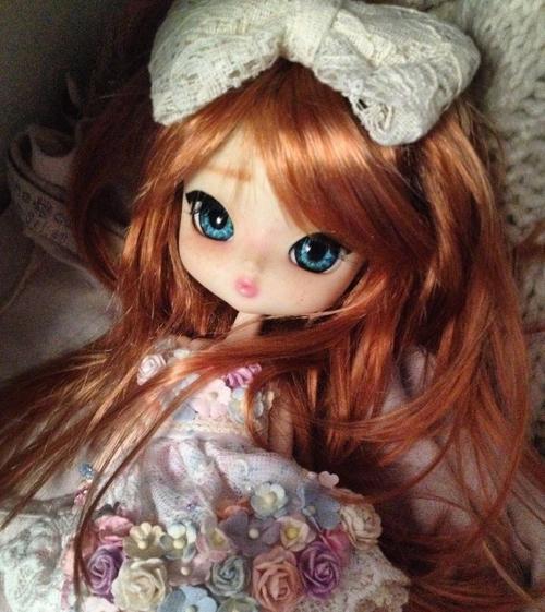 Une petite robe fleurie pour Candy  ♡