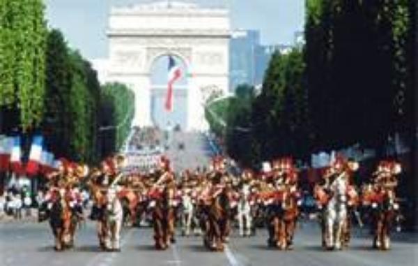 dimanche 14 Juillert a paris