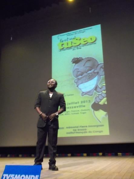 TuSeo 2013: Brazzaville rit au rythme des humoristes talentueux