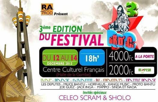 Festival aiR D'iCi III: Dance, Rap, graffiti au programme à Kinshasa