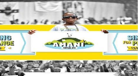 Festival Amani 2015 s'annonce électrique