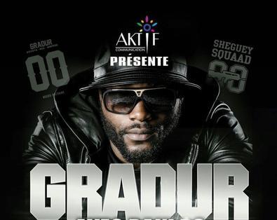 Gradur en concert « Retour aux sources » à Kinshasa