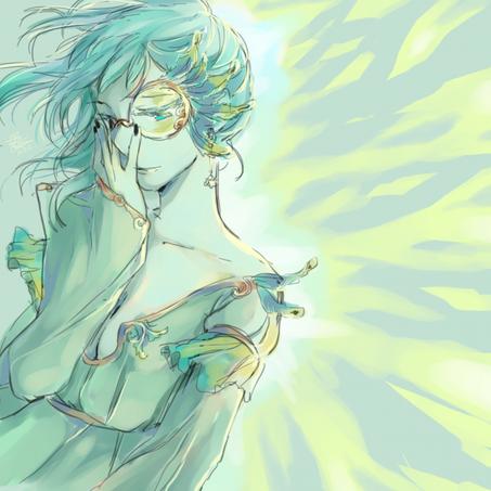 Bleue écume ♠ Parée de plumes