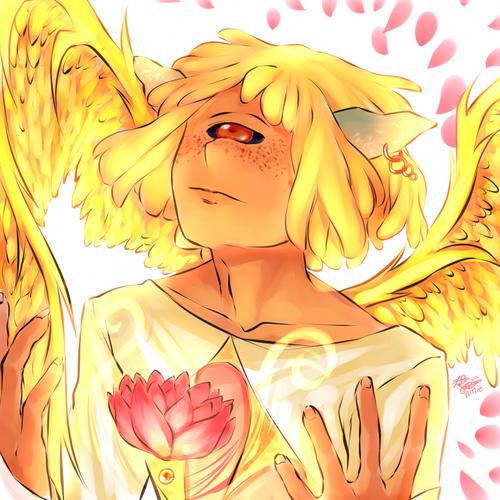 Perle ensoleillée ♣ Caresse dorée